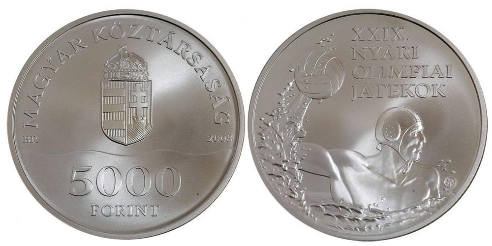 5000 Forint Nyári Olimpia Peking 2008 BU