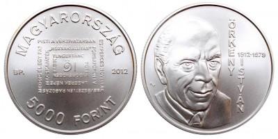 5000 Forint Örkény István 2012 BU