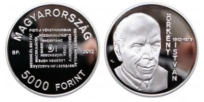 5000 Forint Örkény István 2012 PP
