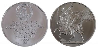 5000 Forint Rákóczi szabadságharc 2003 BU