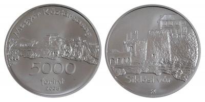 5000 forint a Siklósi vár 2008 BU