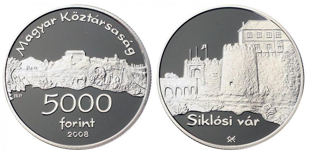 5000 forint a Siklósi vár 2008 PP