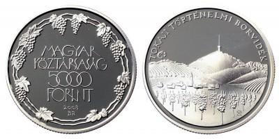 5000 forint a Tokaji borvidék 2008 PP