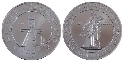 75 forint MNB 1999 BU