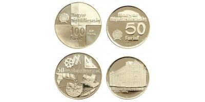 National bank 50-100 forint 1974