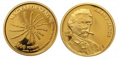 Arany János 5000 forint 2017