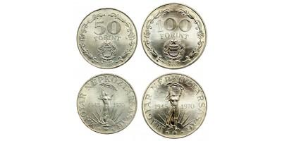 Liberation 50-100 forint 1970