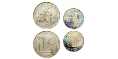 Lake Placid 200-500 forint 1980