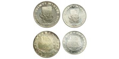 Zrínyi 25-50 forint 1966