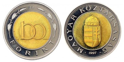 100 forint 1997 PP
