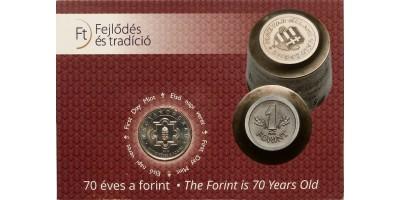 50 forint 70 éves a forint 2016