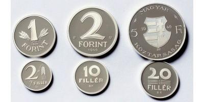 Mesterdarabok ezüstből forint sor 1946 PP