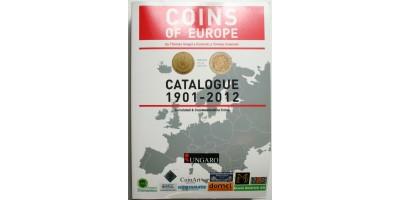 Európai pénzek katalógus 1901-2010