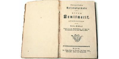 Abbe Eckhel: Kurzgefasste Anfangsgründe zur alten Numismatik (Bécs 1787)