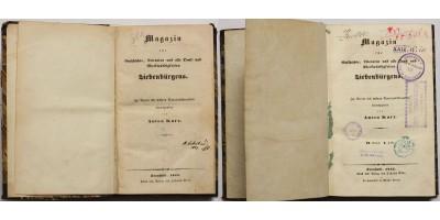 Magazin für Geschichte, Literatur und alle Denk- und Merkwürdigkeiten Siebenbürgens (1844, 1846)