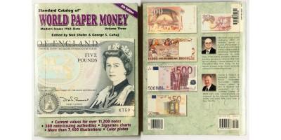 World paper money katalógus  1961- től napjainkig.