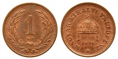 1 fillér 1896 KB