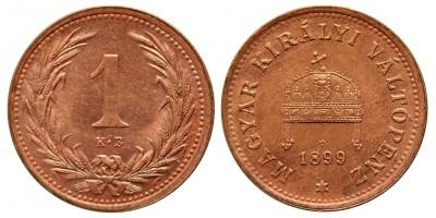 1 fillér 1899 KB