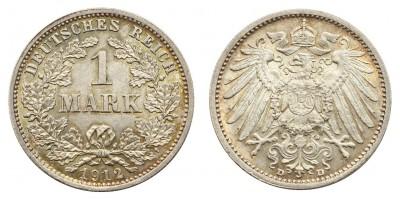Németország 1 márka 1912 D