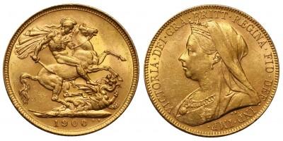 Nagy-Britannia Viktória sovereign 1900