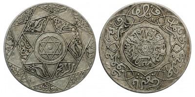 Marokkó  2 1/2 dirham 1315-1897