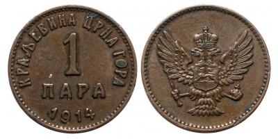 Montenegro 1 para 1914