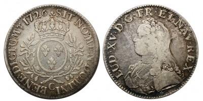 Franciaország Ecu 1726 C