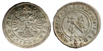 Regensburg 2 krajcár 1629