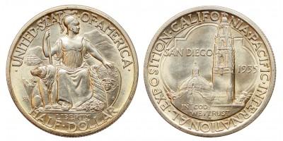 USA 1/2 dollár 1935 San Diego