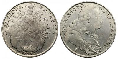 Bajorország tallér 1772 A