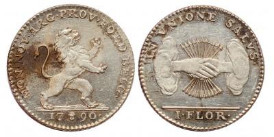 Brabant Németalföldi felkelés florin 1790