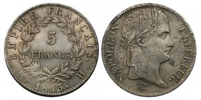 I.Napoleon 5 frank 1813
