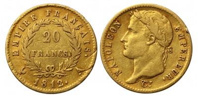 I.Napoleon 20 frank 1812