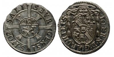 Salzburg 1 krajcár 1702