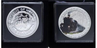 Libéria 5 dollár  2011 PP