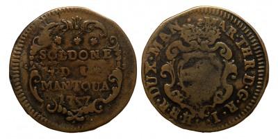 Olaszország Mantova 2 soldi 1757