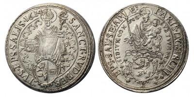 Salzburg Paris von Lodron, 1619-1653. tallér 1624.