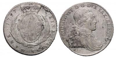 Szászország Friedrich August III. 1763-1806. tallér 1797 I.E.C.