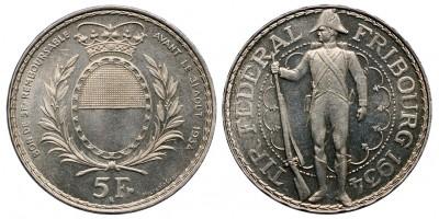 Svájc 5 frank 1934
