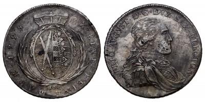 Szászország tallér 1795 I.E.C.