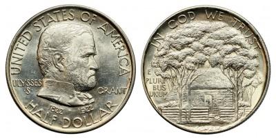 USA 1/2 dollar  1922 Grant