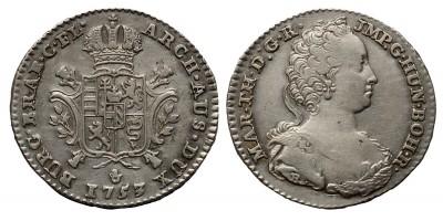 Mária Terézia 1/4 ducaton 1753 Antwerpen