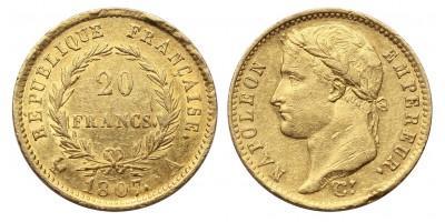 I.Napoleon 20 frank 1807 A