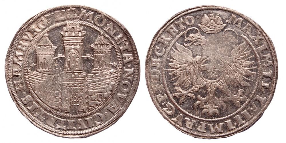 Hamburg taler 1572