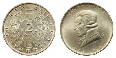 Ausztria 2 schilling 1932 Haydn