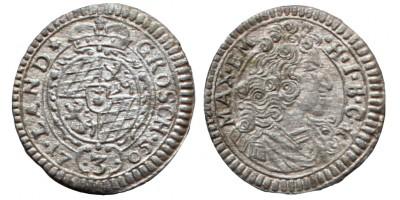 Bajorország II. Miksa groschen 1705