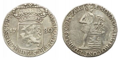Hollandia,Zeeland dukát 1780