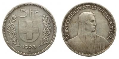 Svájc 5 frank 1923