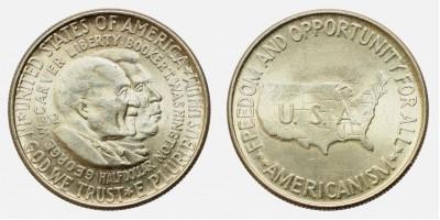 USA  1/2 dollár 1952
