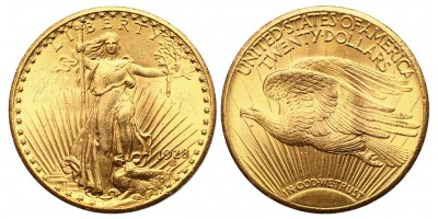 USA Saint-Gaudens 20 dollár 1928
